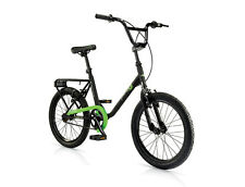 BICI MBM F**K U 20 NERO/VERDE BICICLETTA CITY VINTAGE SINGLE SPEED NEW 2016