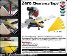 FastCap Zero Clearance Tape insert for your chopsaw