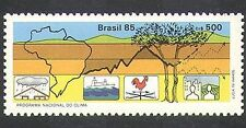 Brasil 1985 weather/meteorology/tree / graph/climate/nature / medio ambiente 1v n38134
