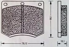 TRIUMPH TR6, 2500cc, FROM 2/74 TO 3/76 -  NEW QUALITY FRONT BRAKE PADS