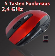 Wireless Kabellos Optische Funkmaus 1600 DPI USB Notebook PC Computer Maus Mouse