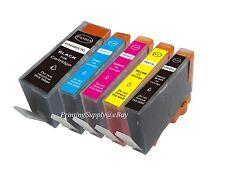 5PK New Hi-Yield BK/PBK/C/M/Y Ink For HP 564 XL PhotoSmart 5510 5511 C510 C5324