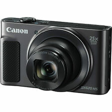 Canon PowerShot SX620 HS with 8gb Card & Case (Black) (SMP2)