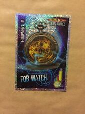 DOCTOR WHO- ALIEN ARMIES-GLITTER FOIL - G6-FOB WATCH- MINT