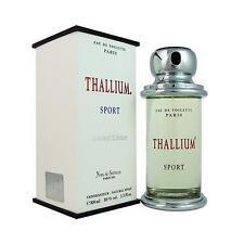 Thallium Sport by Yves De Sistelle 3.3 / 3.4 oz EDT Cologne for Men New In Box