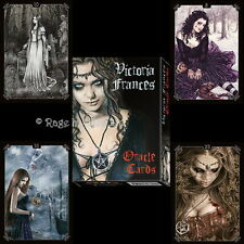 *VICTORIA FRANCES ORACLE CARDS* Gothic Fantasy Vampire Art