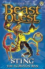 BEAST QUEST Sting the Scorpion Man by Adam Blade (Paperback, 2008)