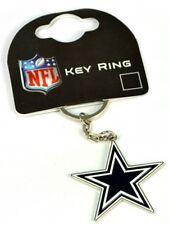 Dallas Cowboys NFL Crest metal / enamel Keyring  Licensed  (bb)