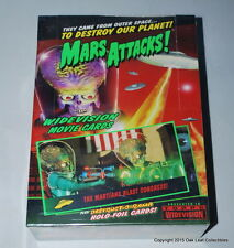 Mars Attacks Widevision 1996 Topps Trading Cards Full Box Sealed