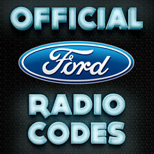 Ford Radio Code V M Sony Visteon Focus Fiesta Transit Van Ka Serial Key Codes