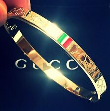 Gucci Bracelet Women's Bangle Size 18 Brand New