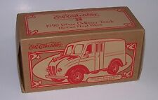 Ertl 1950 Divco Club Milk & Ice Cream Delivery Truck Die Cast Bank Vehicle NIB