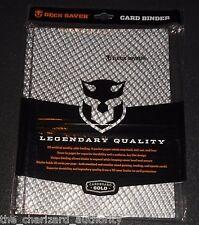 DECK SAVER Binder Holofoil BLACK 20 Pages Monster 9 Pocket 360 Card SEALED