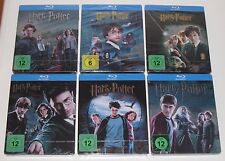 Harry Potter 1-6 Blu Ray Steelbook Steelbooks - German - New + Sealed Germany