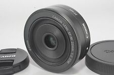 New Original Canon EOS M EF-M 22mm F/2 STM Prime Wide Angle Lens