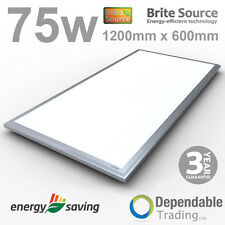 1200 mm x 600 mm 75w LED Panel - 6000k Daylight - 48% Energy Saving - 6800 Lumen