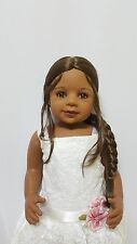 "NWT Exclusive Masterpiece Dolls AA Laura Lt Brunette 29"" Monika Levenig"