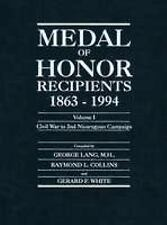 Medal of Honor Recipients 1863-1994: 2 Volume Set-ExLibrary