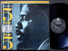 THELONIOUS MONK 5 By Monk By 5 LP RIVERSIDE RS 12-9305 US '59 DG JAZZ Thad Jones