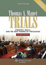 Trials: Strategy, Skills, & New Powers of Persuasion-ExLibrary