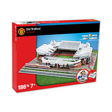 PAUL LAMOND JEUX-Manchester United Old Trafford Stade Puzzle 3D