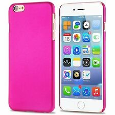 Thin Pink Transparent Matte Hard Plastic Back Case Cover For iPhone 6S iPhone 6
