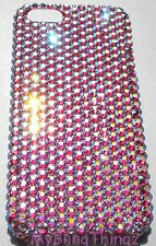 ROSE AB Crystal Rhinestone Bling Back Case for iPhone 4 4S w/ Swarovski Elements