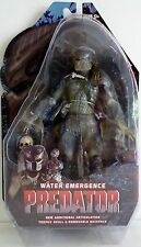 "WATER EMERGENCE PREDATOR Predator Movie 7"" inch Figure Series 9 Neca 2013"