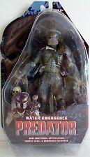 """WATER EMERGENCE PREDATOR Predator Movie 7"""" inch Figure Series 9 Neca 2013"""