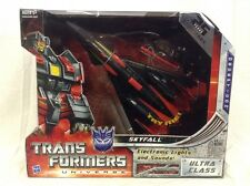 Transformers Universe SKYFALL Ultra Class Decepticon Robot black jet