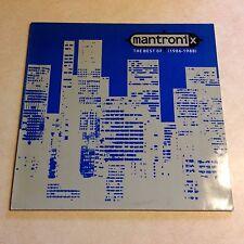 Mantronix The Best Of (1986–1988) vinyl LP 1990 Ten Records Virgin MC Tee