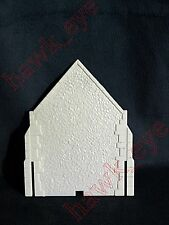 Plasticville Parish Church Back Piece White O-S Scale