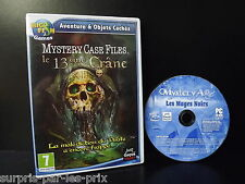 PC GAME Adventure et Hidden Objects THE 13 ème SKULL - Mystery Case Files