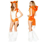 Fox Kigurumi Carnival Party Sexy Cosplay Animal Costume Halloween Fancy Dress