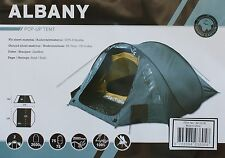 Grand Canyon Albany Pop-Up-Zelt Wurfzelt 2/3 Personen blau NEU & OVP