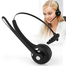 Over Head Noise Cancelling Wireless Bluetooth Stereo Boom Mic Headset Headphones
