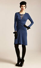 Alice By Temperley Blue Alcazar Dress Size 14  RRP £295      #3
