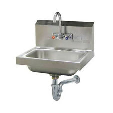 "Advance Tabco 7-PS-54 14"" Wall Model Hand Sink"