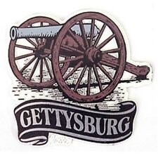 GETTYSBURG BANNER CANNON MAGNET NEW