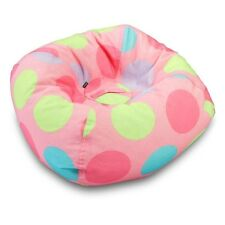 Ace Bayou Medium Polka Dot Bean Bag Chair In Pink 9660901 New