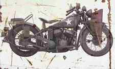 Indian 640B 1942 Aged Vintage Photo Print A4 Retro poster