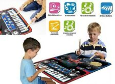 Play Piano For Kids Mat Electric Drum Set Playmat Best Gifts 3 Year Old Boys 4 5
