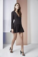 NWT FINDERS KEEPERS ROUND UP BACKLESS BLACK DRESS Sz S $290
