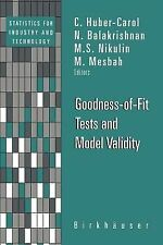 Statistics for Industry and Technology: Goodness-of-Fit Tests and Model...