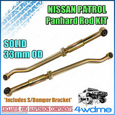 Nissan Patrol GQ GU Series 1 Y60 Y61 4WD Adjustable Front & Rear HD Panhard Rods