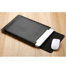 """Laptop Sleeve PU Lether Carry Bag Case For 11/12/13/15"""" MacBook Air/Pro Retina"""