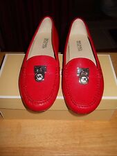 NEW~MICHAEL KORS~Ballet Cili Red  Hamilton Driver Slip On Loafer~Size 8