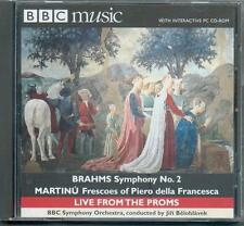 BRAHMS - SYMPHONY No 2 / MARTINU: FRESCOES OF PIERO DELLA FRANCESCA / BELOHLAVEK