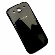 100% Genuine Samsung Galaxy S3 i9300 rear battery cover back housing Black gloss