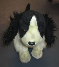 Plush Dog Toy Ty Beanie Buddies Collection 2002 Clean Black and White Spotted